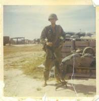 Dad Vietnam War M60 by bing281