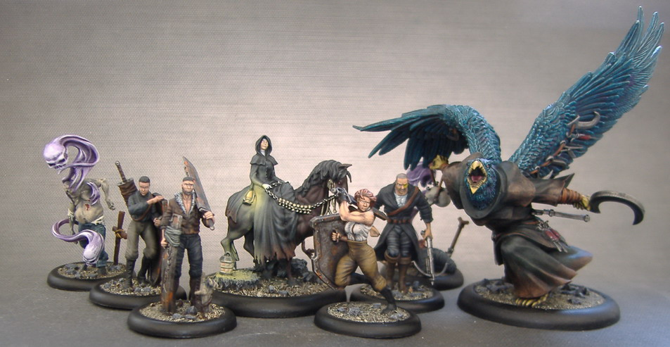 Reva's Crew  - Mercy of Death - Malifaux by Cezarreo