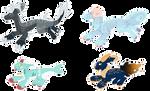 OTA Feral Dragon Bun Adopts [Closed] by Plenii