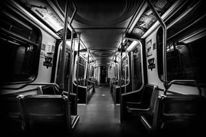 Empty Subway Car by insomniac199