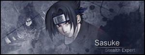 Uchiha Sasuke banner