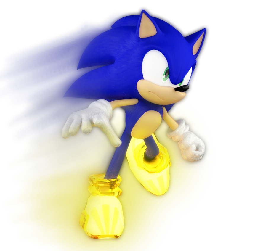 how to draw sonic unleashed