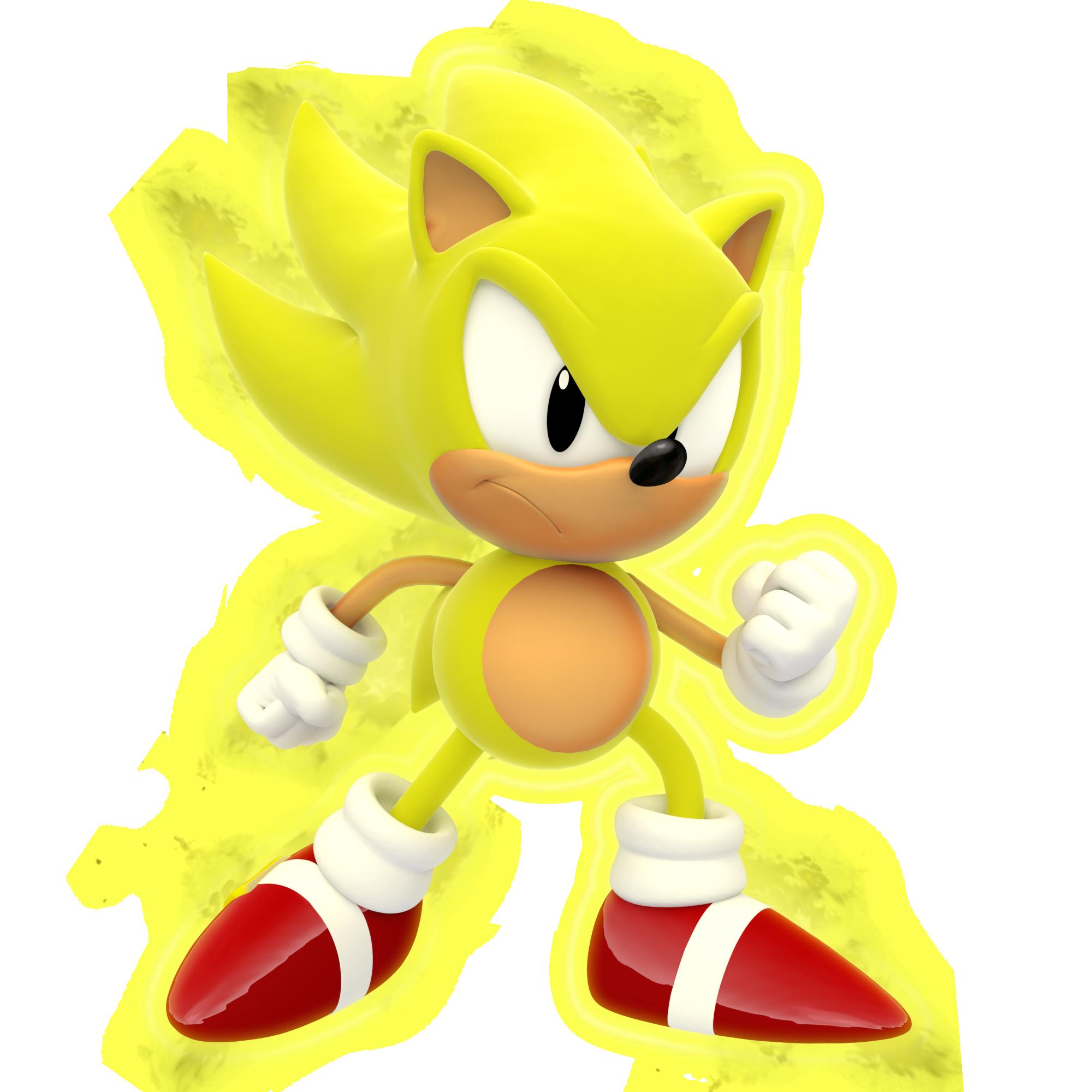 Classic Super Sonic 2k By Modernlixes On Deviantart