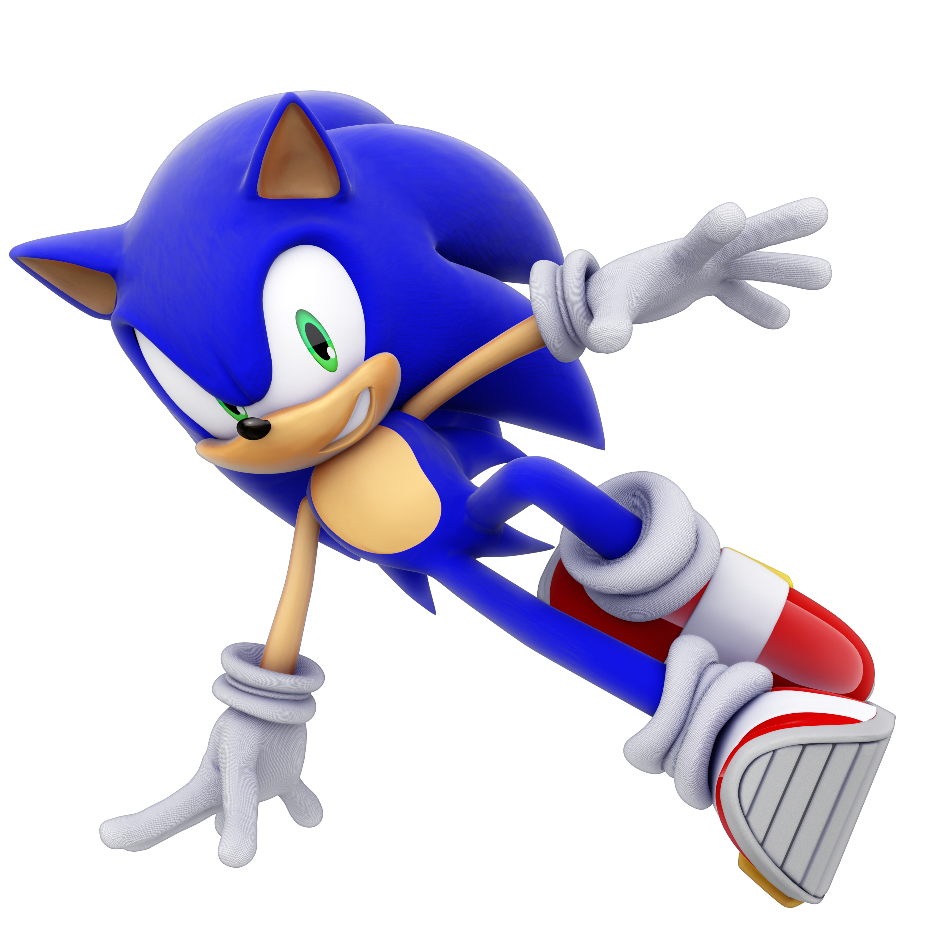 Sonic Unleashed Sonic Drifting 3k By Modernlixes On Deviantart