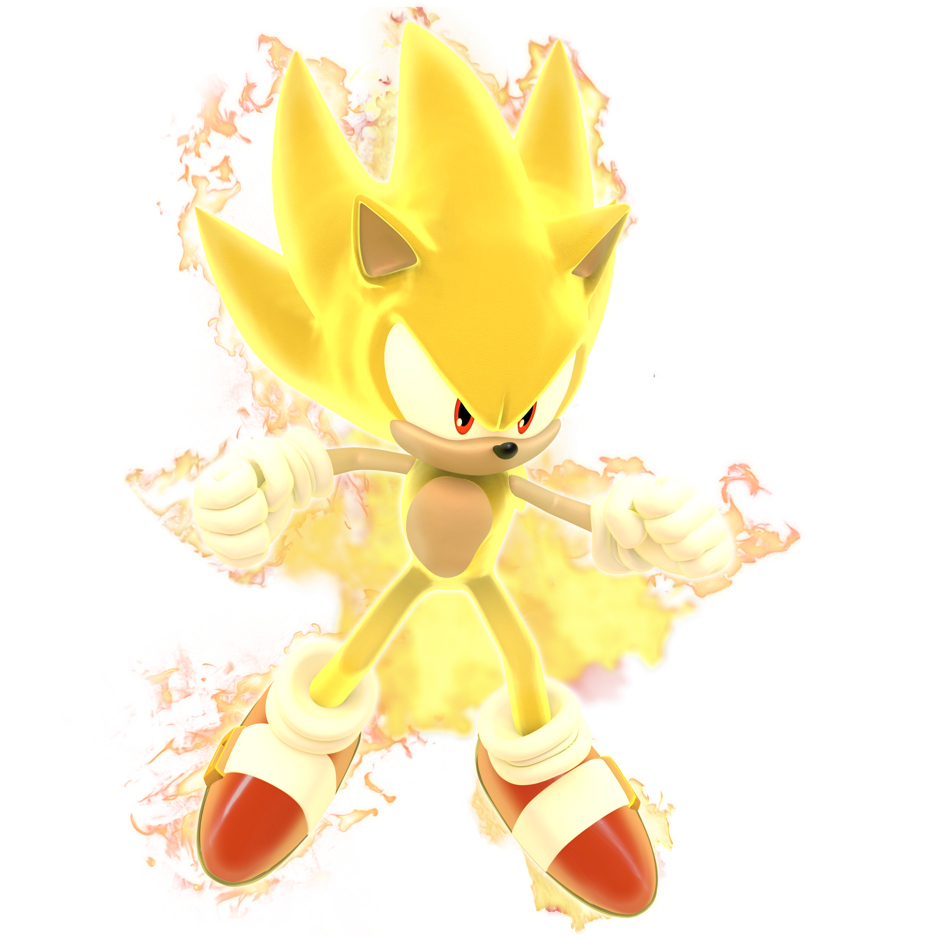 Sonic Unleashed Super Sonic Aura By Modernlixes On Deviantart