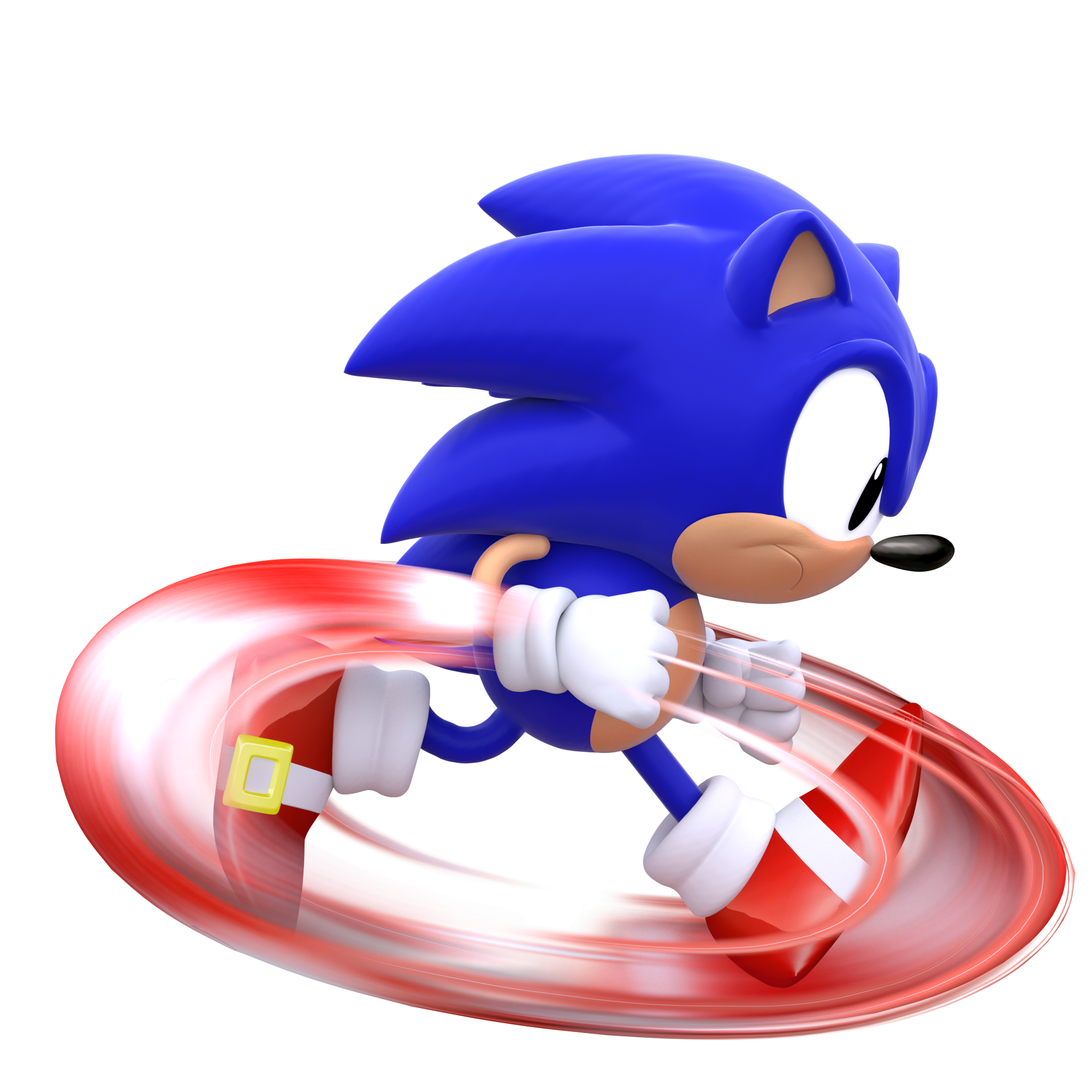 Classic Sonic Running By Modernlixes On Deviantart