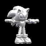 Silver Sonic - Test Render