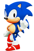 1991 Japanese Sonic the Hedgehog (3D) by ModernLixes
