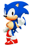 1991 Japanese Sonic the Hedgehog (3D)