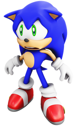Adventure Sonic Sad face