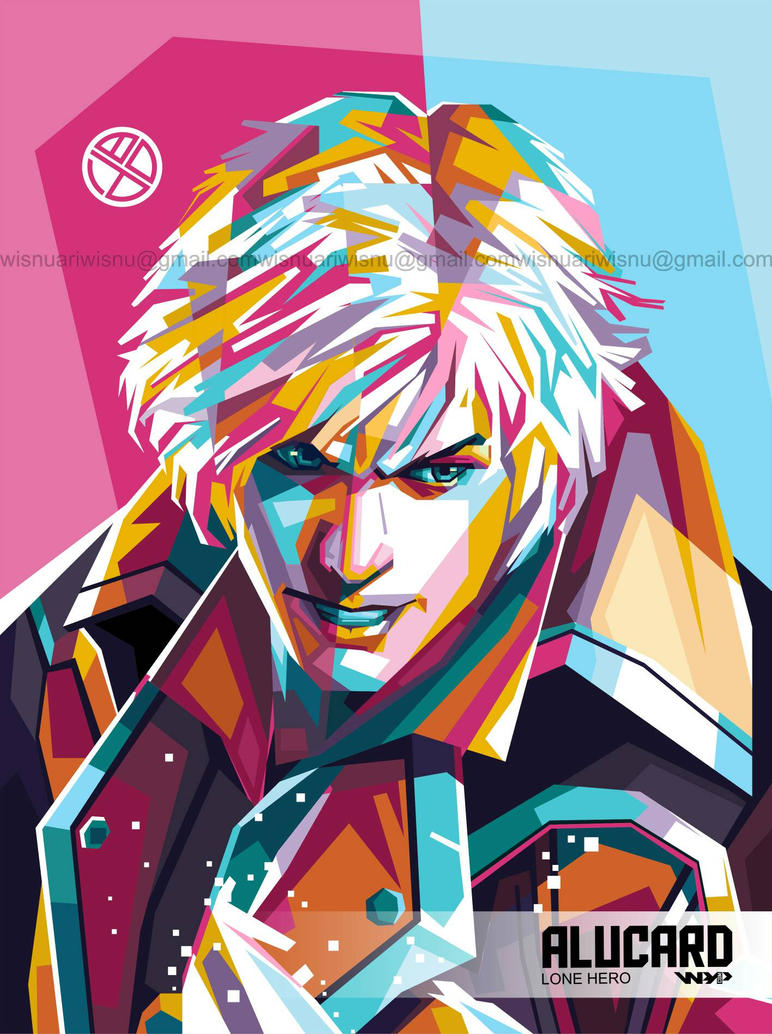 alucard lone hero in wpap mobile legends by wisartwap