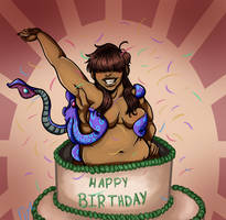 Happy (belated) Birthday Momma Ponder by RocketGruntPC