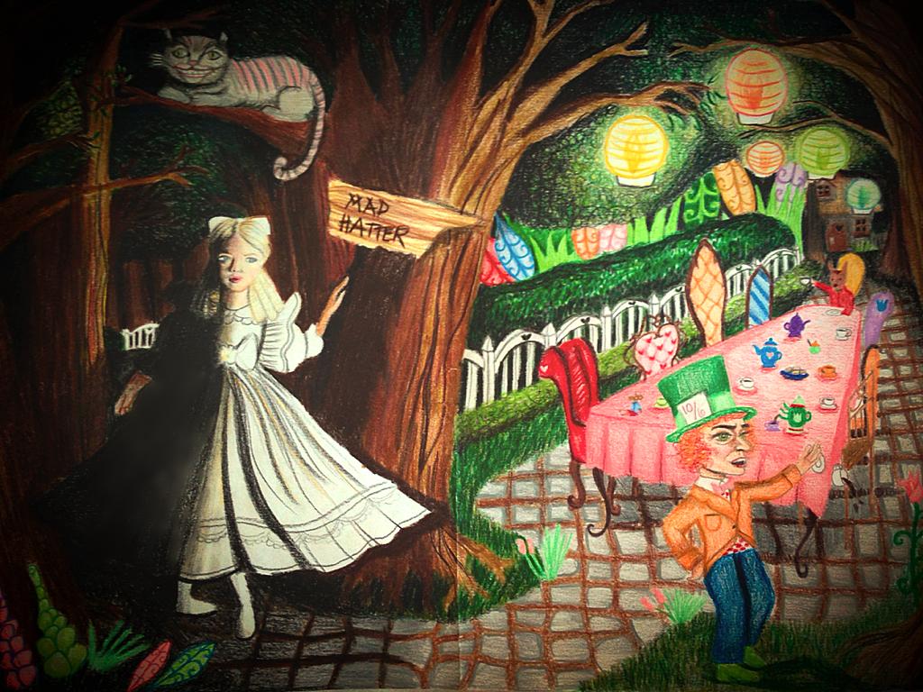 Alice in Wonderland by legendtrilogylover