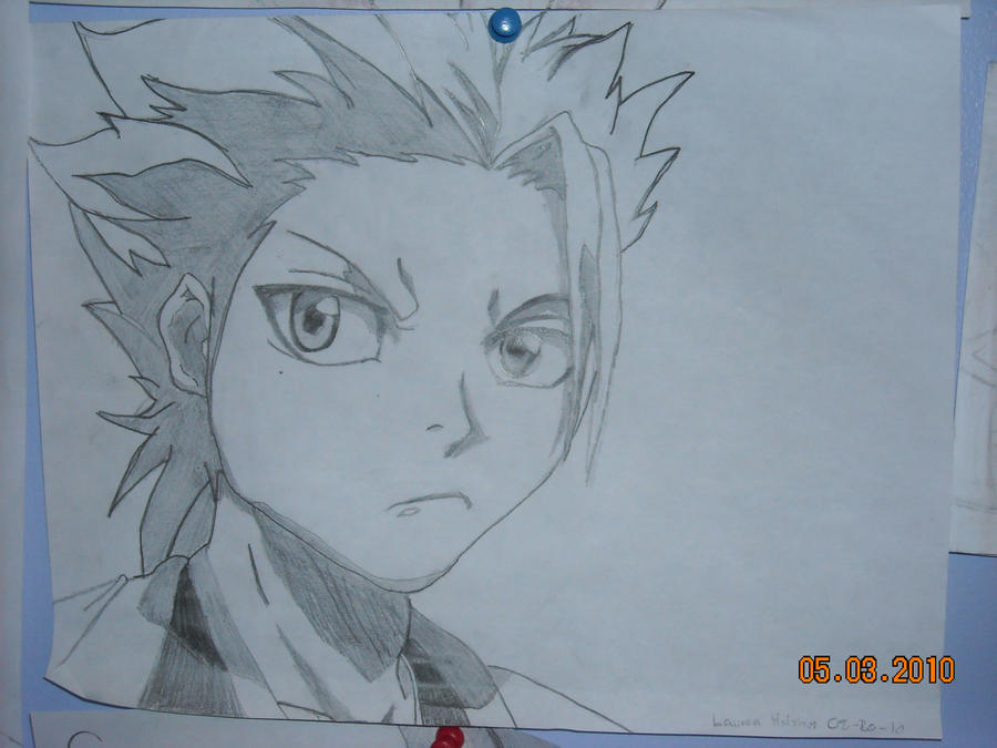Toshiro Hitsugaya Drawing by 07-Ghost8