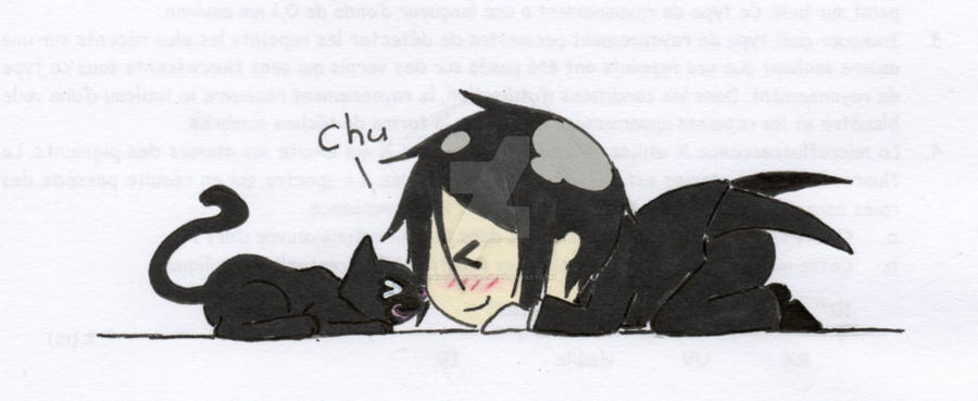 Sebastian Chu Kitty by MissSebasuchan