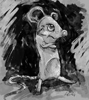 Angry Mouse by loriesque