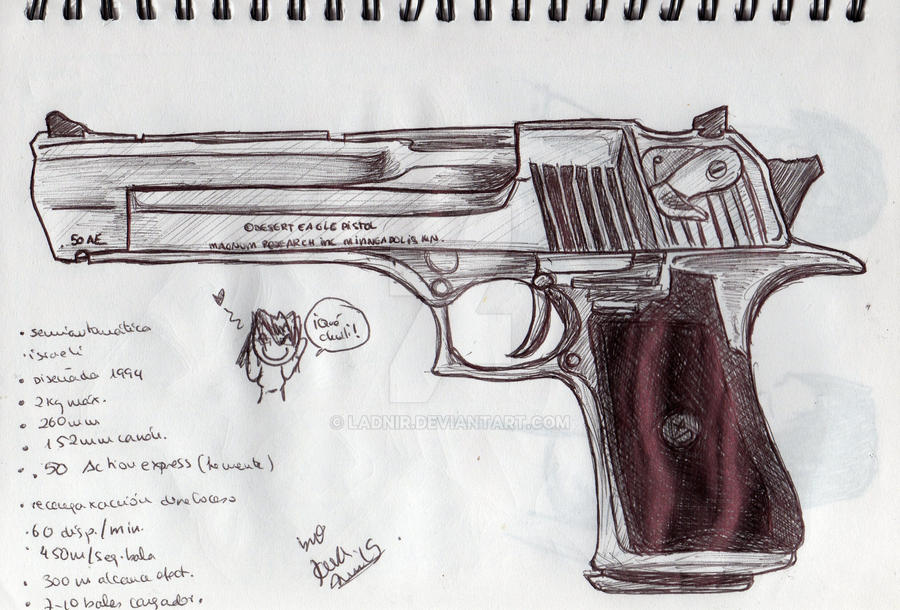 Desert Eagle .50 AE by Ladnir