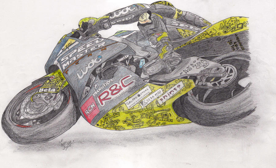 Iannone's Bike -scan- by Ladnir