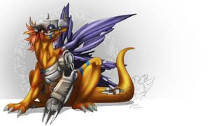 Metalgreymon - Digimon