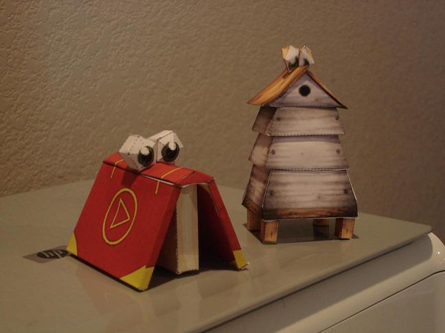 Banjo Kazooie Papercrafts by brentm