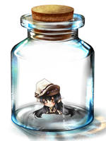 Bottled blackmage by Sorasha
