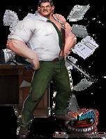 Mayor Mike 'Macho' Haggar Character Edit