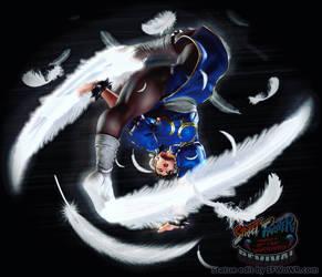 Chun-Li 'Spinning Bird Kick' UAS Statue Edit