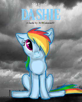 My Little Dashie fake movie cover