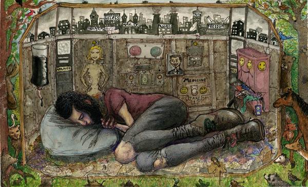 sleep by astropatheticus