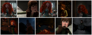 Merida and Hiccup argument