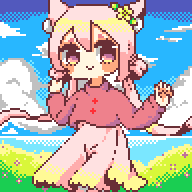 Pixel Art: Koneko by Sweetmeloday