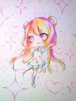 Yumino [Art Trade] by Sweetmeloday
