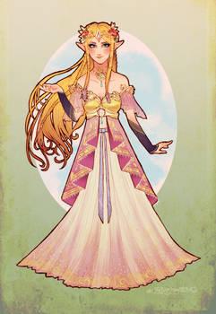 Art Nouveau Hyrule Warriors Zelda