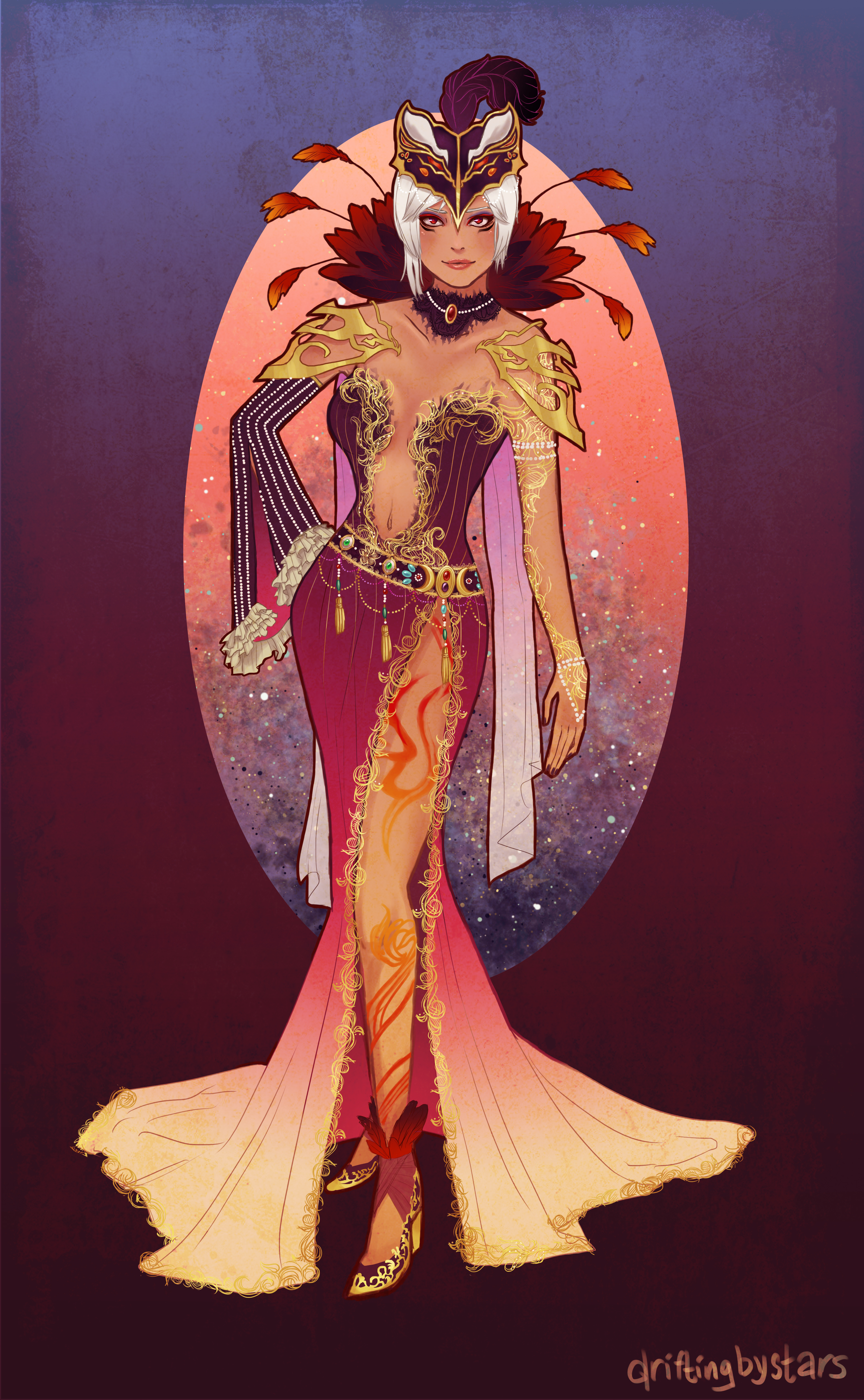 Hyrule Warriors Art Nouveau Cia By Aeternumluminis On Deviantart
