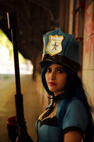 Officer Caitlyn by VictoriaRusso