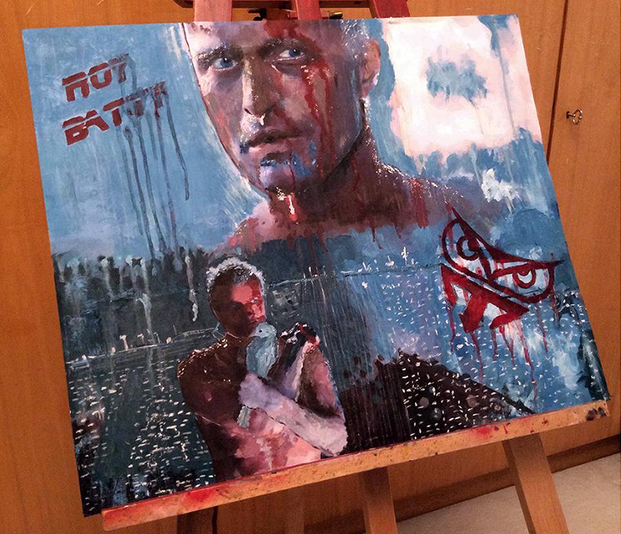 Ro.Bat: Tears in Rain (Blade Runner) by AsliBayrak