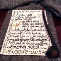 Lament for Gandalf (Elvish Handwriting I) by Faunwand