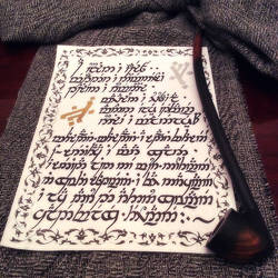 Lament for Gandalf (Elvish Handwriting I)