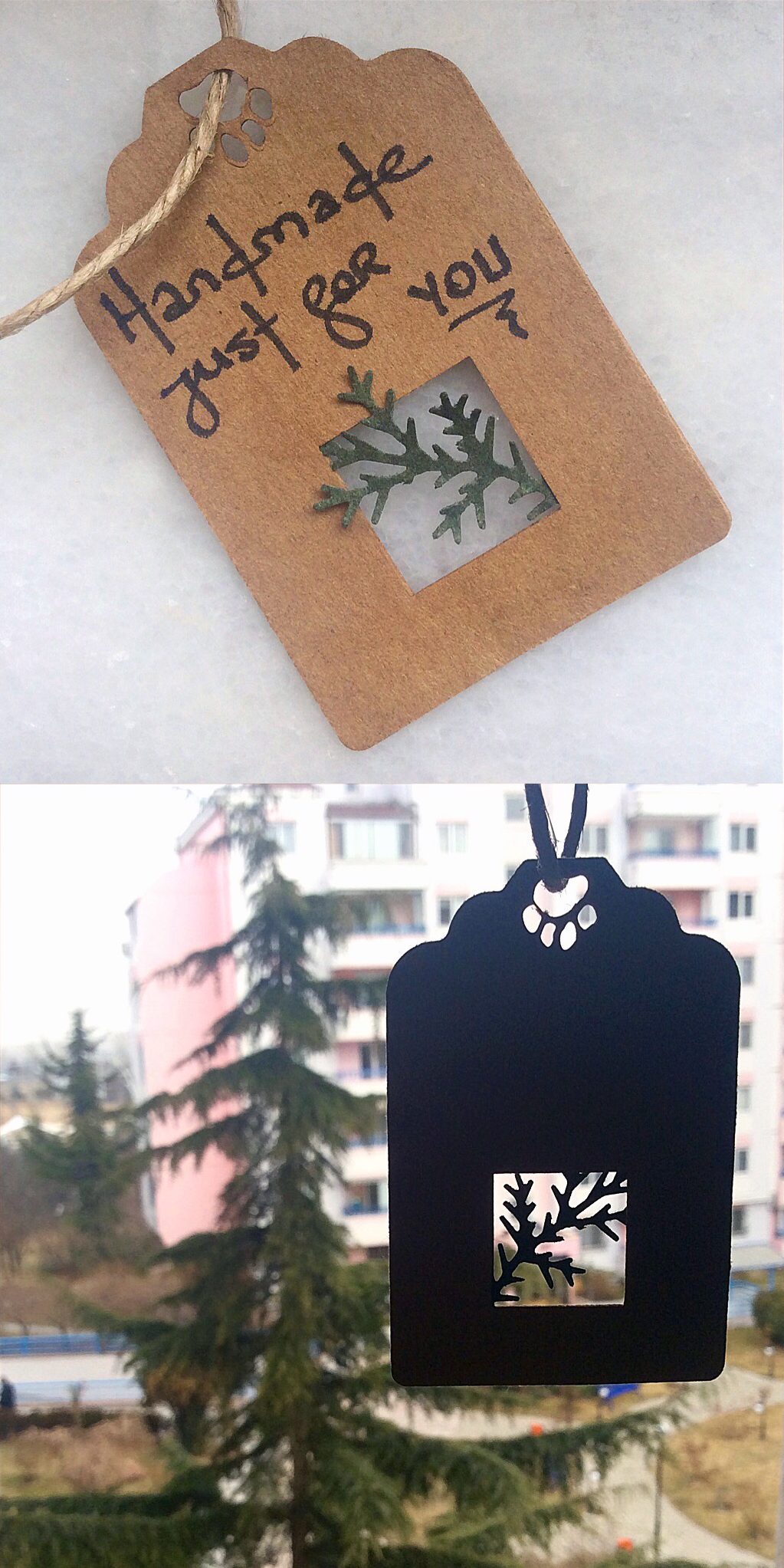 Kraft Nature Tags by AsliBayrak