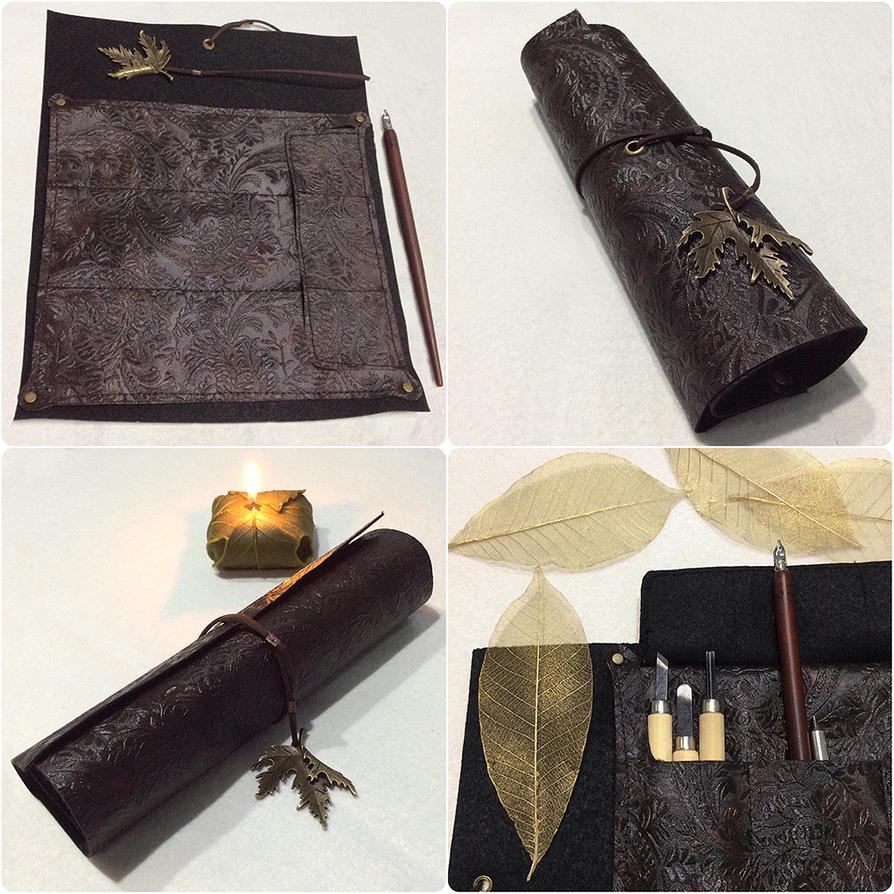 Leather Scroll of Galadhrim by AsliBayrak