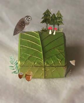 Leaf Trinket Box