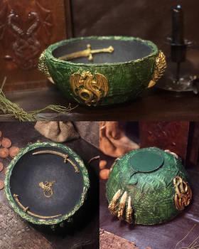 Dragon Altar Bowl