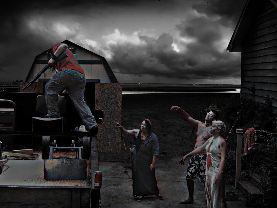 Zombie Apocalypse 2011 by Johanna89