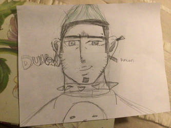 Total drama duncan portrait