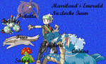 Marriland's Current Nuzlocke Team by Jenome