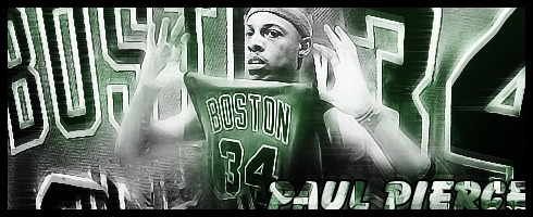 Paul Pierce Boston Celtics by 2D-94