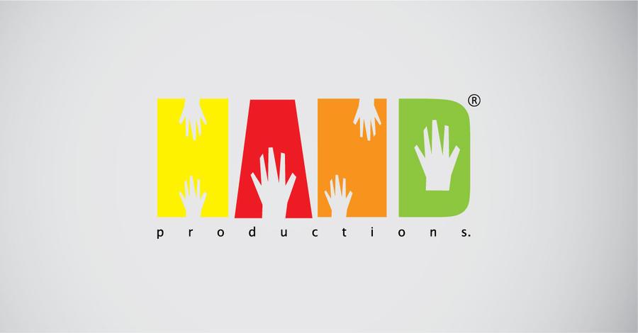 hand productions logo by bebelikeart