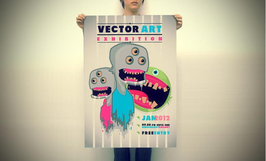 vectorart exh by bebelikeart