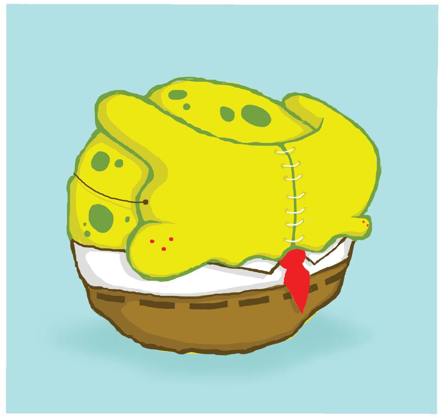 Sponge Beb by bebelikeart
