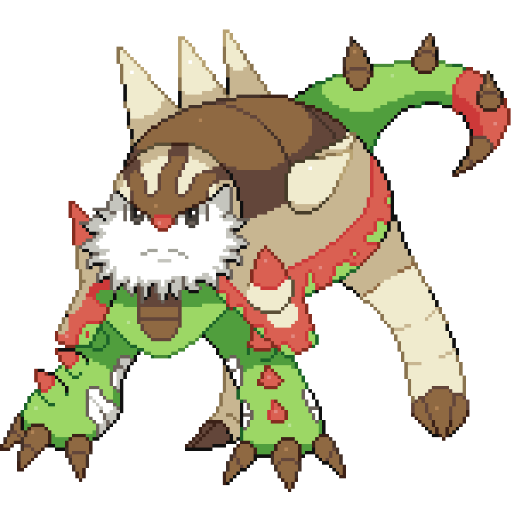 Chesnaught Mega Evolution Pokemon Images | Pokemon Images